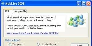 Multi MSN Çoklu Windows Live Messenger Ekran Görüntüsü
