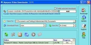Myspace Video Downloader Ekran Görüntüsü