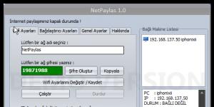 NetPaylas Ekran G�r�nt�s�