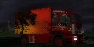 Night Truck Racing Ekran G�r�nt�s�