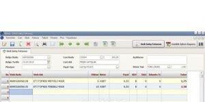Nissa Ticari Paket Ekran Görüntüsü