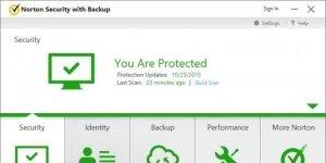 Norton Security Premium Ekran Görüntüsü
