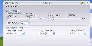 nVidia nTune Ekran Görüntüsü