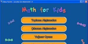 Odesa �ocuklar ��in Matematik Ekran G�r�nt�s�