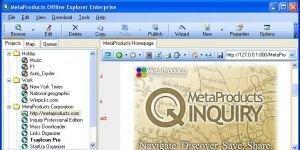 Offline Explorer Enterprise Ekran G�r�nt�s�