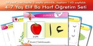 4-6 Ya� (Okul �ncesi) Elifba Harf ��retim Seti Ekran G�r�nt�s�