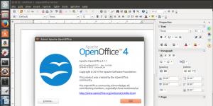 OpenOffice.org Linux Ekran Görüntüsü