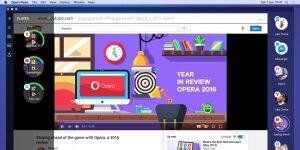 Opera Neon Ekran Görüntüsü