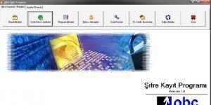 Osif Şifre Kayıt Programı Ekran Görüntüsü