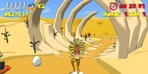 Ostrich Runners Ekran G�r�nt�s�
