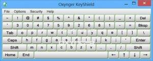 Oxynger KeyShield Ekran Görüntüsü