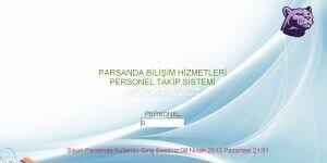 P.D.K.S (Personel Devam Kayıt Sistemi) Ekran Görüntüsü
