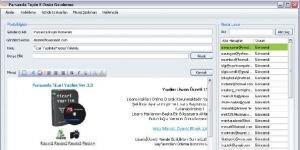 Parsanda Toplu E-Posta Gönderme Sistemi Ekran Görüntüsü