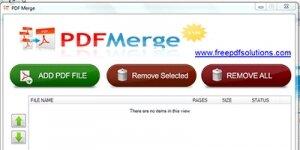 PDFMerge Ekran Görüntüsü