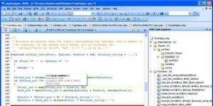 PHP Designer Ekran Görüntüsü