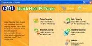 Quick Heal PCTuner Ekran G�r�nt�s�