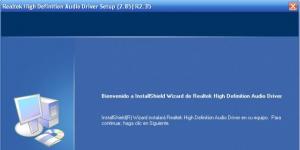 Realtek HD Audio Driver Ekran Görüntüsü