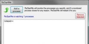 ReStartMe Ekran Görüntüsü