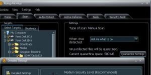 Rising Antivirus Free Edition Ekran Görüntüsü