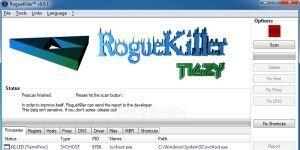 RogueKiller Ekran G�r�nt�s�
