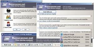 RunScanner Ekran Görüntüsü