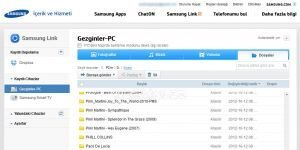 Samsung Link Ekran G�r�nt�s�