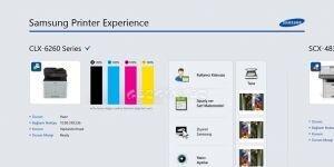 Samsung Printer Experience Ekran Görüntüsü