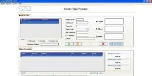 Sav Müşteri Takip Programı Ekran Görüntüsü