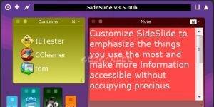 SideSlide Ekran Görüntüsü