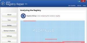 Simnet Registry Defrag 2011 Ekran Görüntüsü