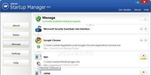 Simnet Startup Manager 2011 Ekran Görüntüsü