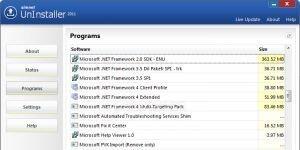Simnet UnInstaller 2011 Ekran Görüntüsü
