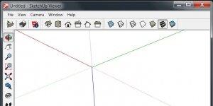 SketchUp Viewer Ekran Görüntüsü