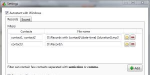 Skype Auto Recorder Ekran G�r�nt�s�