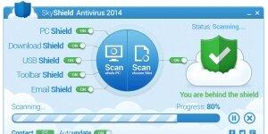 SkyShield Antivirus 2014 Ekran G�r�nt�s�