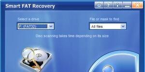 Smart FAT Recovery Ekran Görüntüsü