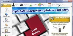 SMS Makinesi - Toplu SMS Gönderimi Ekran Görüntüsü