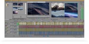 Sony Vegas Pro Ekran Görüntüsü