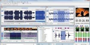 Sound Forge Pro Ekran G�r�nt�s�