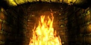 Spirit of Fire 3D Screensaver Ekran G�r�nt�s�