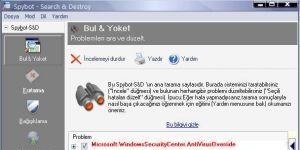 Spybot - Search & Destroy Ekran G�r�nt�s�