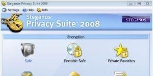 Steganos Privacy Suite Ekran Görüntüsü