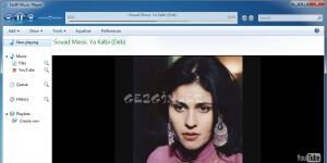 Stoffi Music Player Ekran Görüntüsü