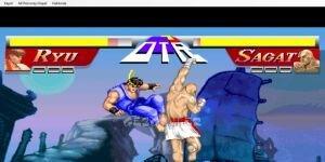 Street Fighter Flash Oyunu Ekran G�r�nt�s�