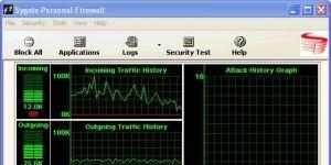 Sygate Personal Firewall Ekran Görüntüsü