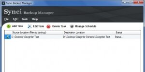 Synei Backup Manager Ekran G�r�nt�s�