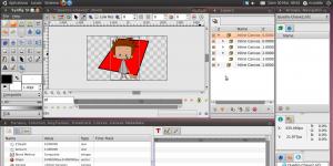 Synfig Studio Ekran Görüntüsü