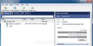 TeamDrive Ekran Görüntüsü