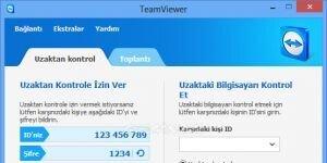 TeamViewer Ekran G�r�nt�s�