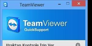 TeamViewer QuickSupport Ekran Görüntüsü
